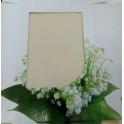 Ландыши, коробка 21.5х16.5х4 см с окошком