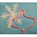 Елочная игрушка (К005). Пластиковая вырубка