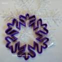 Снежинка (К010). Пластиковая вырубка