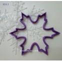 Снежинка. (К011). Пластиковая вырубка