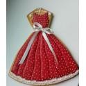 Платье (К142). Пластиковая вырубка