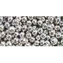 Бусинки 2-3 мм серебро, 20 г. Шарики сахарные
